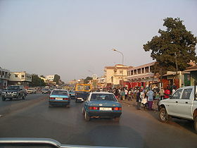 Downtown Bissau