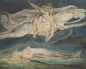 Pity (William Blake) - The Metropolitan Museum version of the design
