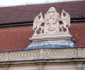 Cluj-Napoca Bánffy Palace - Bánffy family coat of arms