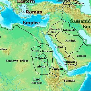 Blemmyes ancient nomadic African kingdom