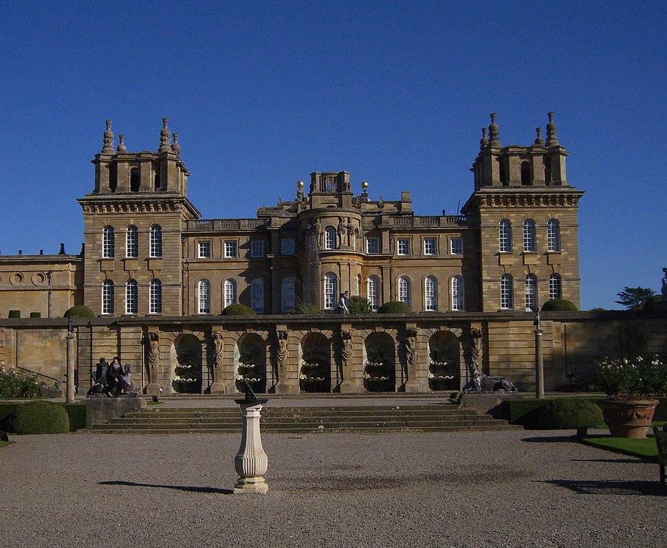 Blenheim Palace Terrace, 2010