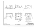 Block Houses (Nos. 1 and 2), Central (110th Street) and Morningside Parks (123rd Street), New York, New York County, NY HABS NY,31-NEYO,33- (sheet 1 of 2).png