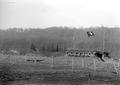 Blockhaus mit Drahthindernissen an der elsässischen Grenze - CH-BAR - 3238321.tif