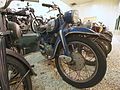 Blue and silver colored NSU motorcycle at the Ford museum pic3.JPG
