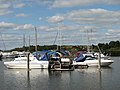 Boats at Somerleyton Marina - geograph.org.uk - 1506160.jpg
