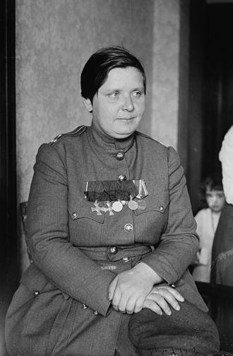 Maria Bochkareva - Image: Bochkareva Maria LOC ggbain 26866