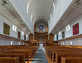 Bodø Cathedral, Nave and Organ 20150608 1.jpg