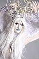 Bodypainted Snow Queen (10508932775).jpg