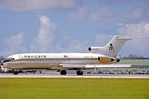 Boeing 727-264 XA-CUE MX MIA 030875 edited-2
