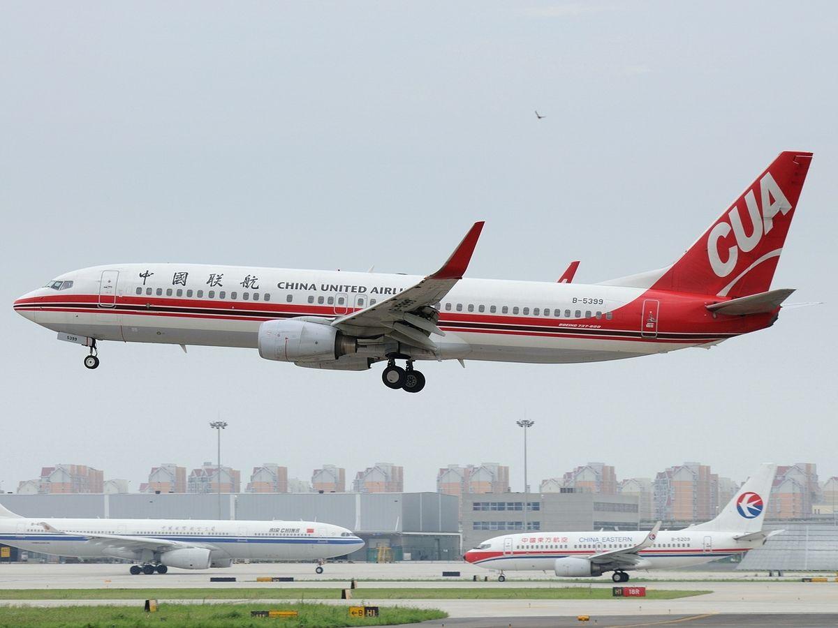 Resultado de imagen de China United Airlines