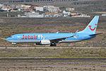 Boeing 737-8K5(w) 'OO-JAH' Jetairfly (24254579713).jpg
