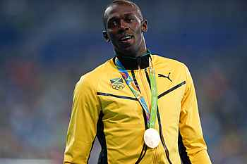Usain Bolt: I'm not happy losing a medal