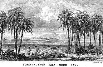 Guanaja - Bonacca c. 1842