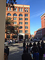 Book Depository Building from Dealey Plaza.JPG