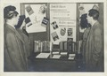 Book burning exhibit at the Muhlenberg branch library on West 23rd Street, Manhattan. The New York Public Library Archives (NYPL b11524053-1252928).tiff