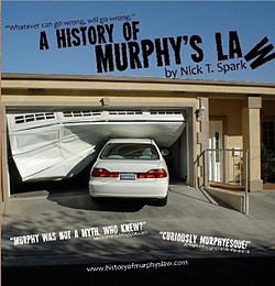 """Book cover of """"A History of Murphy's Law"""".jpg"""