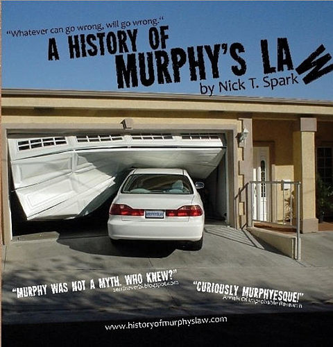 "Cover of A History of Murphy's Law Book cover of ""A History of Murphy's Law"".jpg"