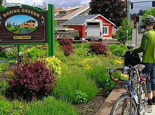 Boring, Oregon Unincorporated community in Oregon, United States