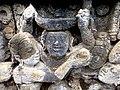 Borobudur - Divyavadana - 082 N, The Sky rains down Jewels (detail 2) (11706228404).jpg