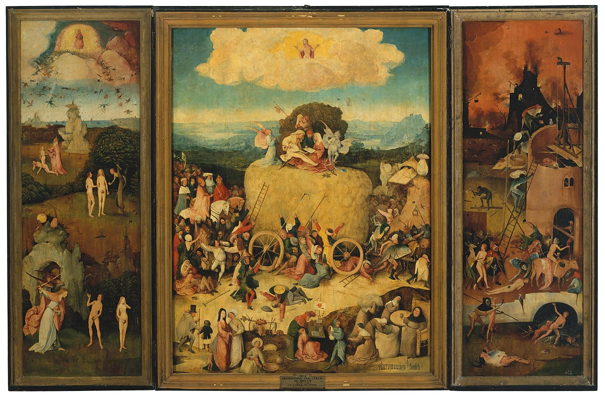 Image result for bosch the haywain