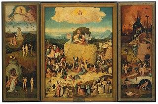 triptych by Jheronimus Bosch; Prado version