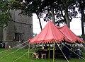 Bours (19 sept 2010) porte ouverte et tente 04.jpg