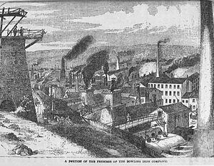 Bowling Iron Works - Image: Bowling Iron Company 1861