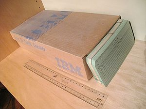 Cardboard box for punch cards. The new cards w...