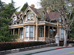 National Register of Historic Places listings in Marin County, California - Image: Boyd House 1125 B St San Rafael CA 3 21 2010 2 49 08 PM