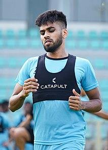 Brandon Fernandes Indian association football player (born 1994)