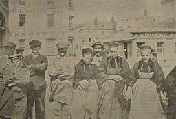 Breton workers Jersey 1912
