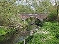 Brick Footbridge Over The River Rea, Ten Acres. - geograph.org.uk - 1240395.jpg