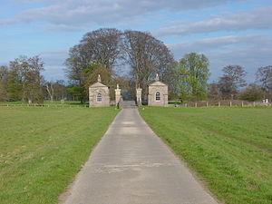 Ribston Hall - Bridge gatehouses in Ribston Park