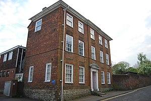 Grade II* listed buildings in Ashford (borough) - Image: Bridge House Ashford Geograph 2503348 by N Chadwick