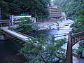 Bridge in Yubara, Okayama.jpg