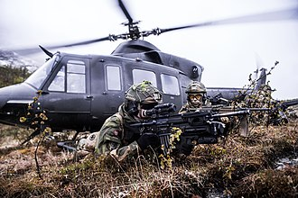 Norwegian Armed Forces - Brigade soldiers at an exercise