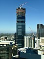Brisbane Skytower seen from level 45 of 111 Eagle Street, Brisbane closeup.jpg