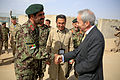 British Ambassador to Afghanistan meets with Helmand officials 140402-M-MF313-125.jpg