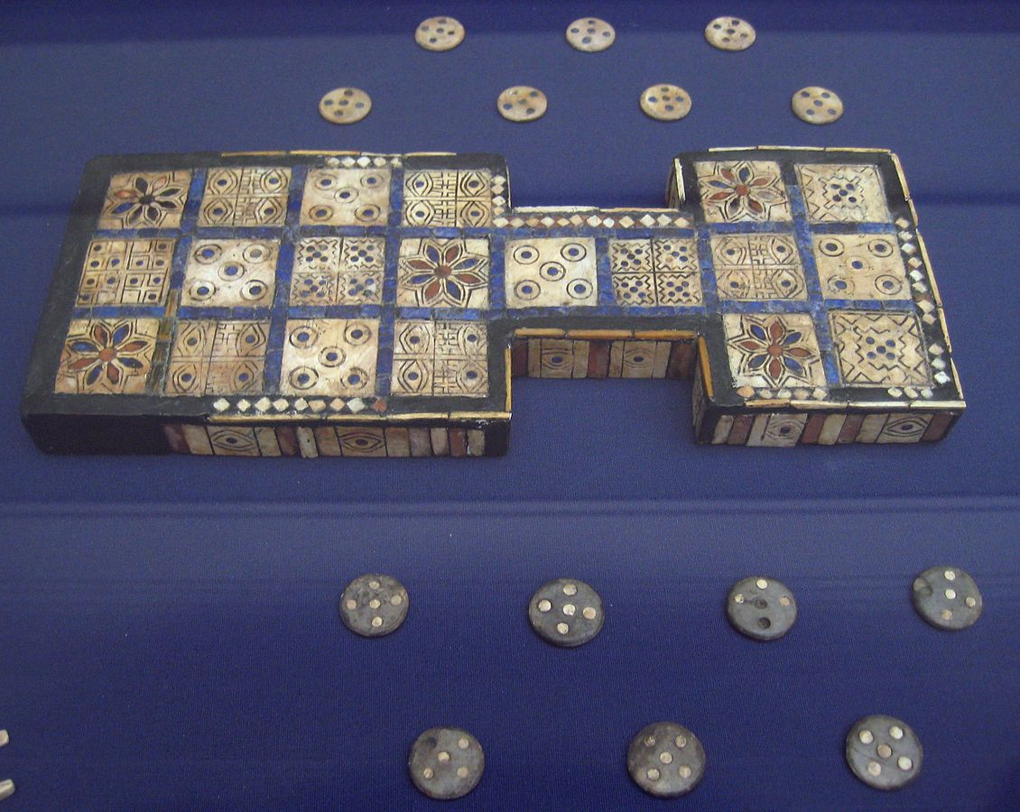 British Museum Royal Game of Ur