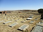 Type of site: Concentration Camp Cemetery. cemetery contains the mortal remains of 1 263 women and children who died during the Anglo-Boer War