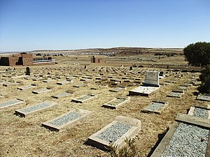 Winburg - The Concentration camp cemetery