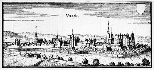 Brühl (Broell) (Matthias Merian)