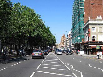 Brompton Road - Brompton Road in the suburb of Brompton.