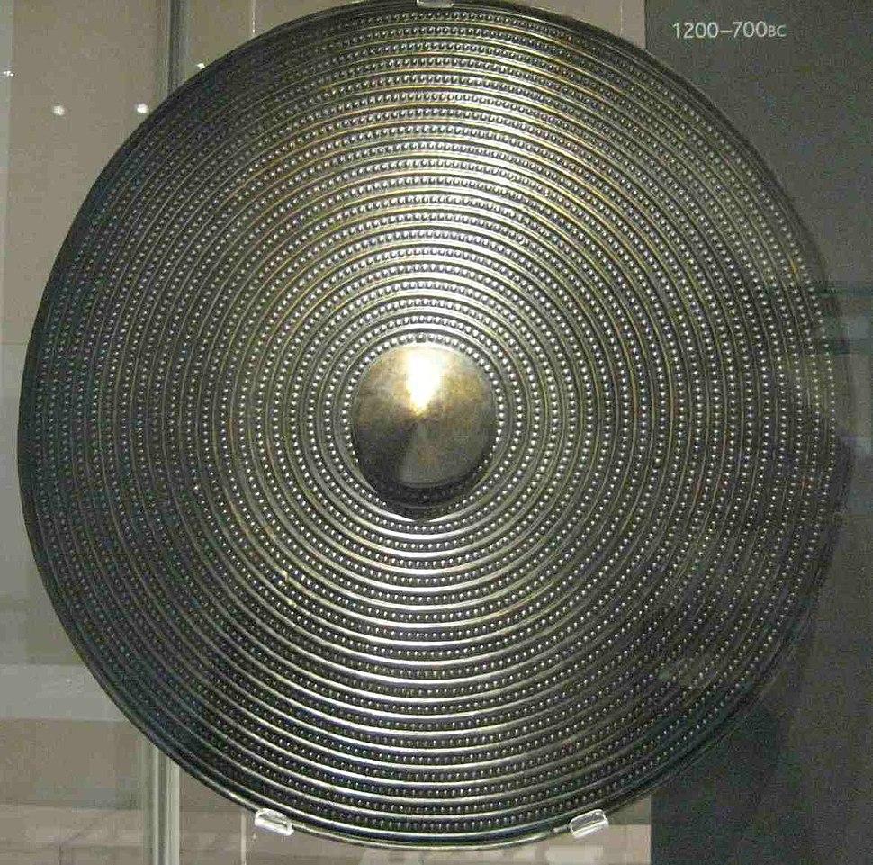 Bronze sheild, 1200-700 BC British Museum cropped