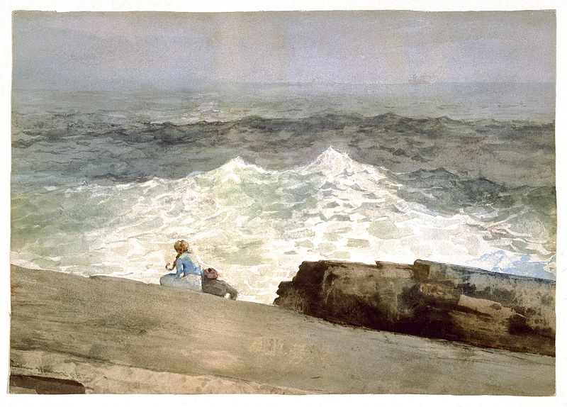 File:Brooklyn Museum - The Northeaster - Winslow Homer - overall.jpg