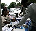 Broward4Obama table at Early Voting in Fort Lauderdale (2976836514).jpg