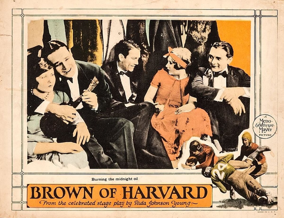 Brown Of Harvard 1926 Film Wikipedia