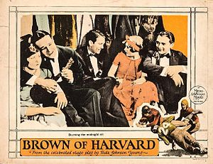 Brown of Harvard (1926 film) - Lobby card