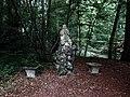 Bruderholz Denkmal im Reinacher Wald, Standort, Hohle Gasse-Spitzenhägiweg (1).jpg