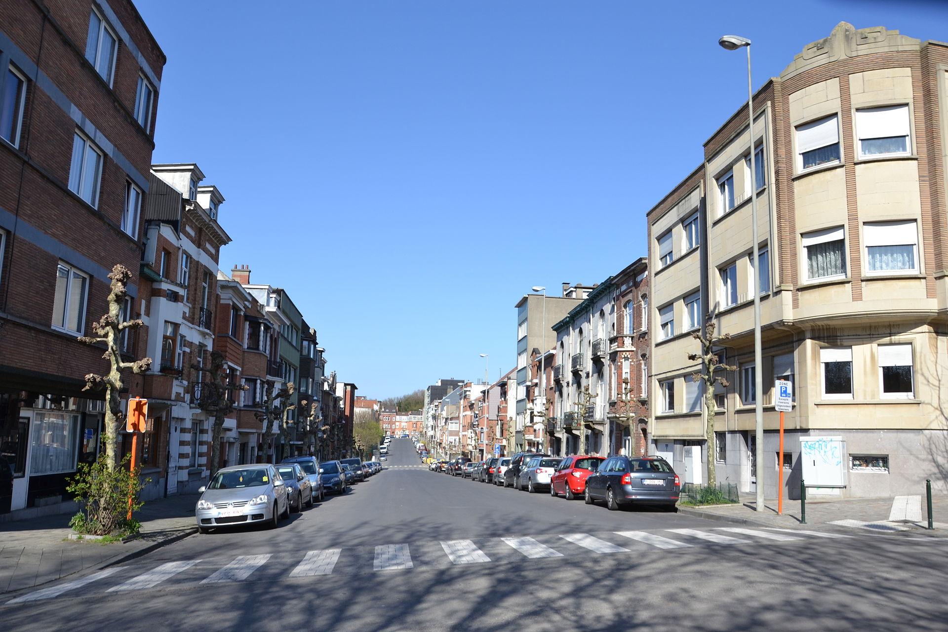 Avenue jean jaur s bruxelles wikip dia for Garage bobigny avenue jean jaures